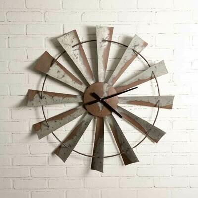 Windmill Wall Clock (Special Order)
