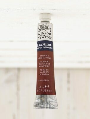 Winsor & Newton Watercolor - 8 ml Tube - Alizarin Crimson Hue