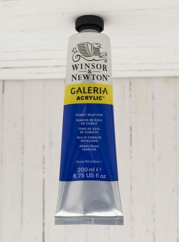 Winsor & Newton Galeria Acrylic 200 ml tube Cobalt Blue Hue