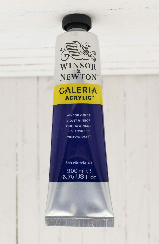 Winsor & Newton Galeria Acrylic 200ml tube Winsor Violet