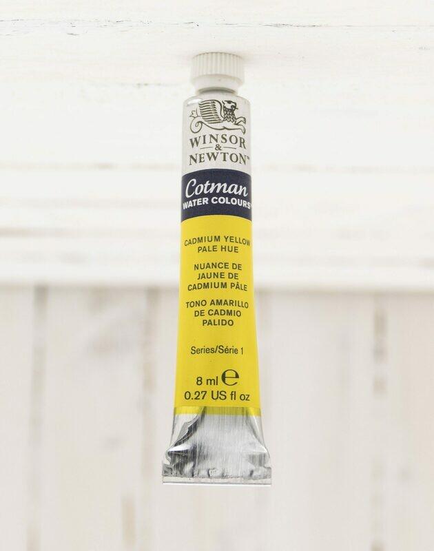 Winsor & Newton Cotman Watercolor - Cadmium Yellow Pale Hue