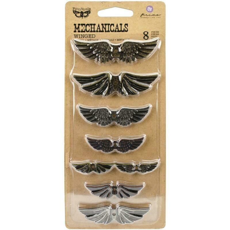 Winged Mechanicals Embellishments (8)