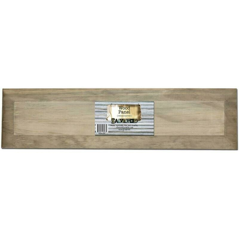 Weathered Wood Panel 24