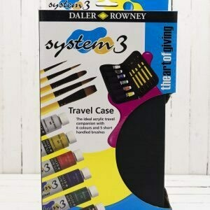 Daler Rowney System 3 Travel Case Set 22 ml tubes
