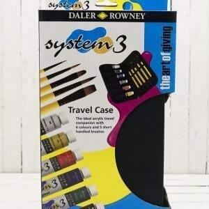 Daler Rowney System 3 Travel Case Set 22 ml tubes