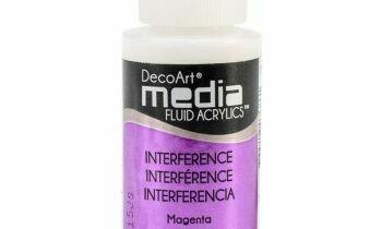 DecoArt Media Fluid Acrylic Paint - Magenta 1 fl oz