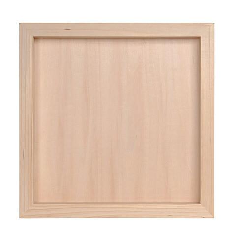 Unfinished Wood Shadow Box 12 x 12 inch
