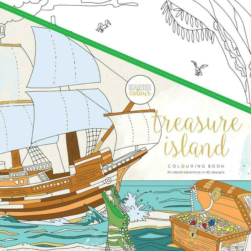 Treasure Island Color Book