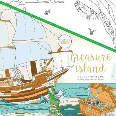 Treasure Island Color Book