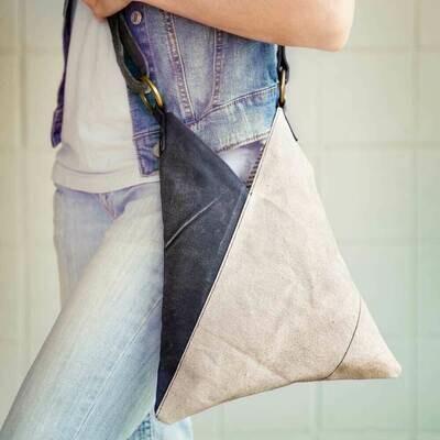 Triangle Cross body Bag