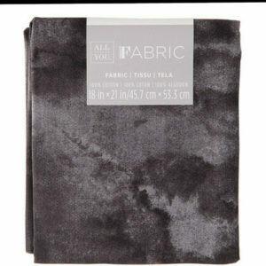 Fabric Fat Quarter Black Textured 18