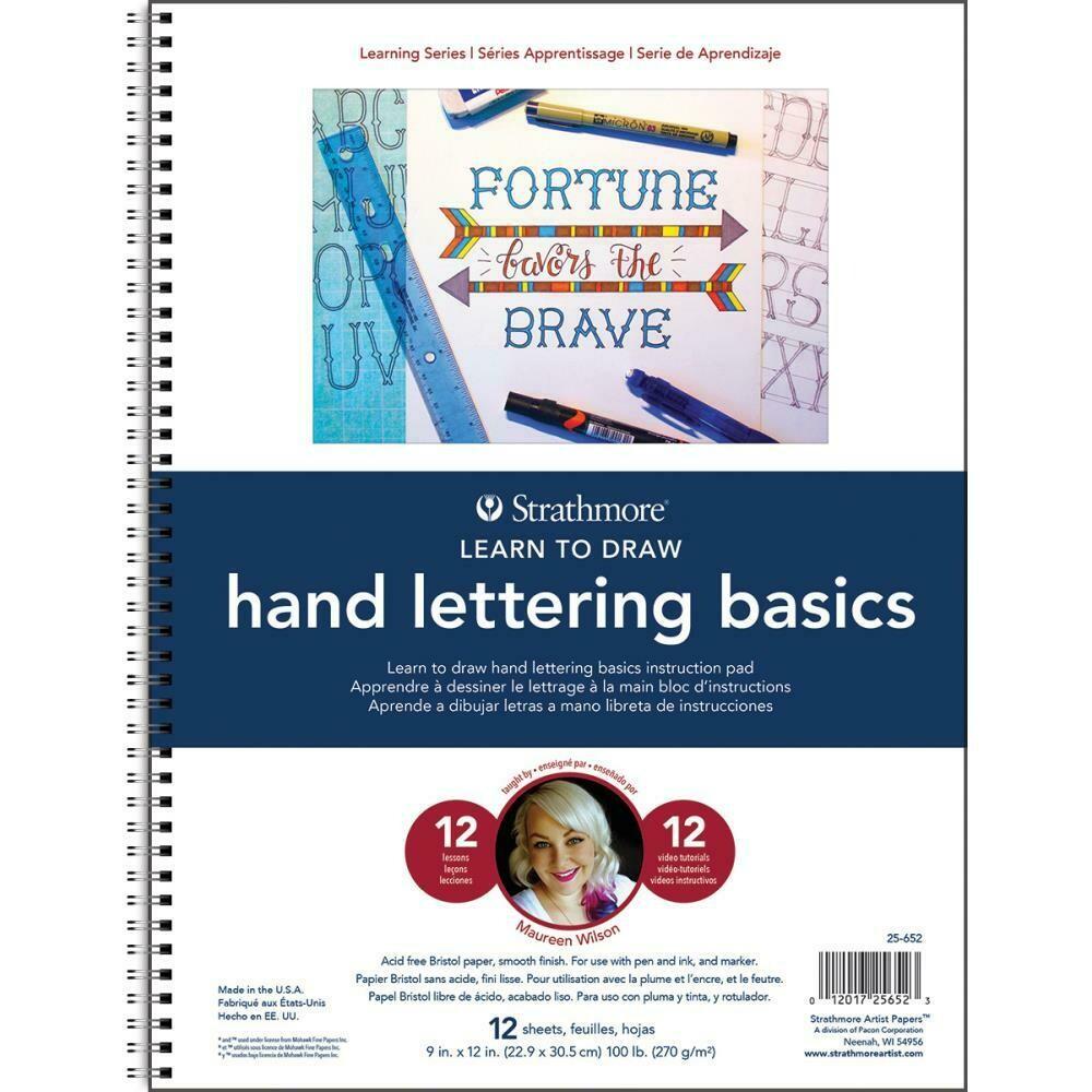 Strathmore- Hand Lettering Basics