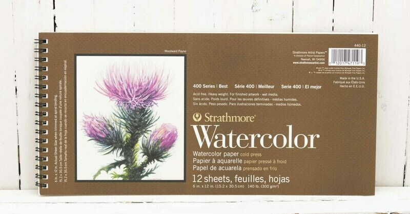 Strathmore 400 Series Watercolor Pad - 6x12