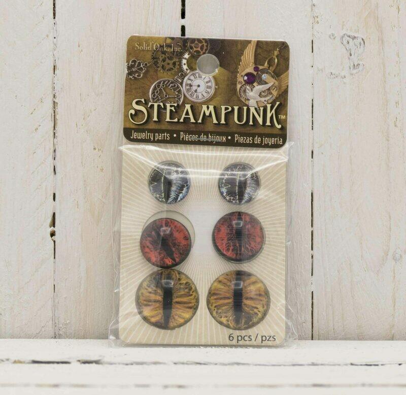 Steampunk Dragon Eye Earthtone
