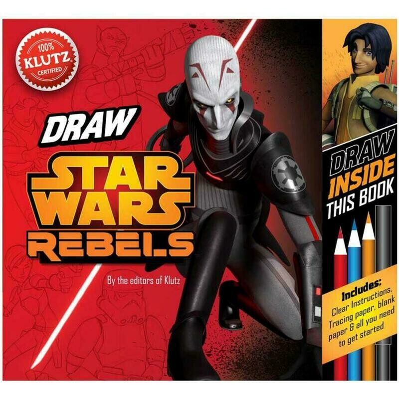 Star Wars Rebels Drawing Kit