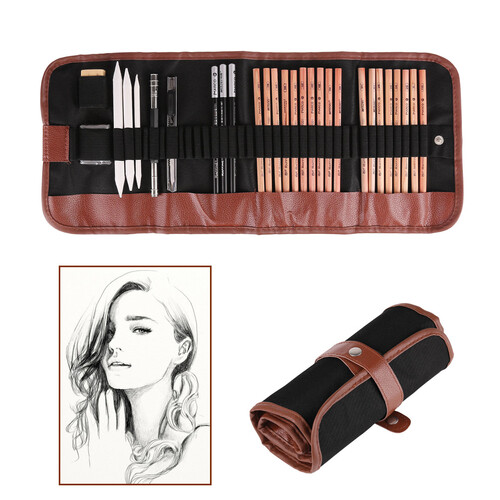 Pen Charcoal Sketch Set Sketching Pencil Set - (Special Order)