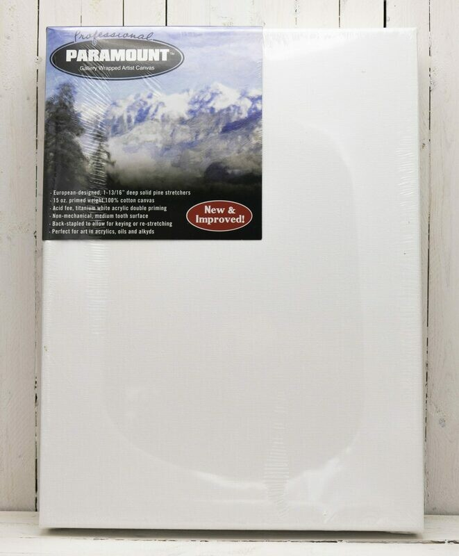 Paramount Pro Gallery Wrap Artist Stretched Canvas 12x16