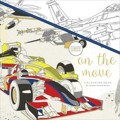 On The Move Color Book
