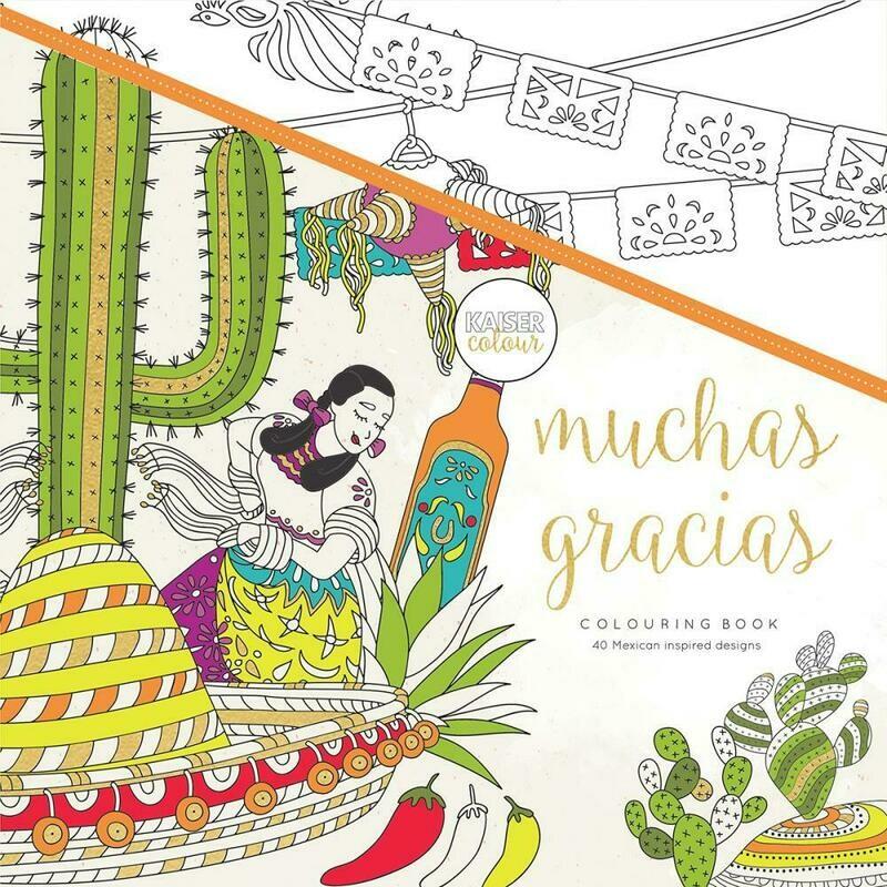 Muchas Gracias Color Book