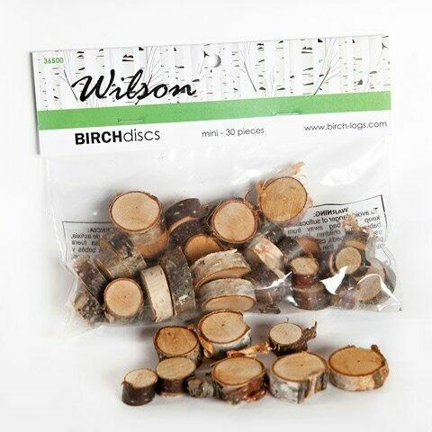 Mini Birch Discs Value Bag