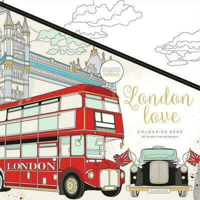 London Love Color Book