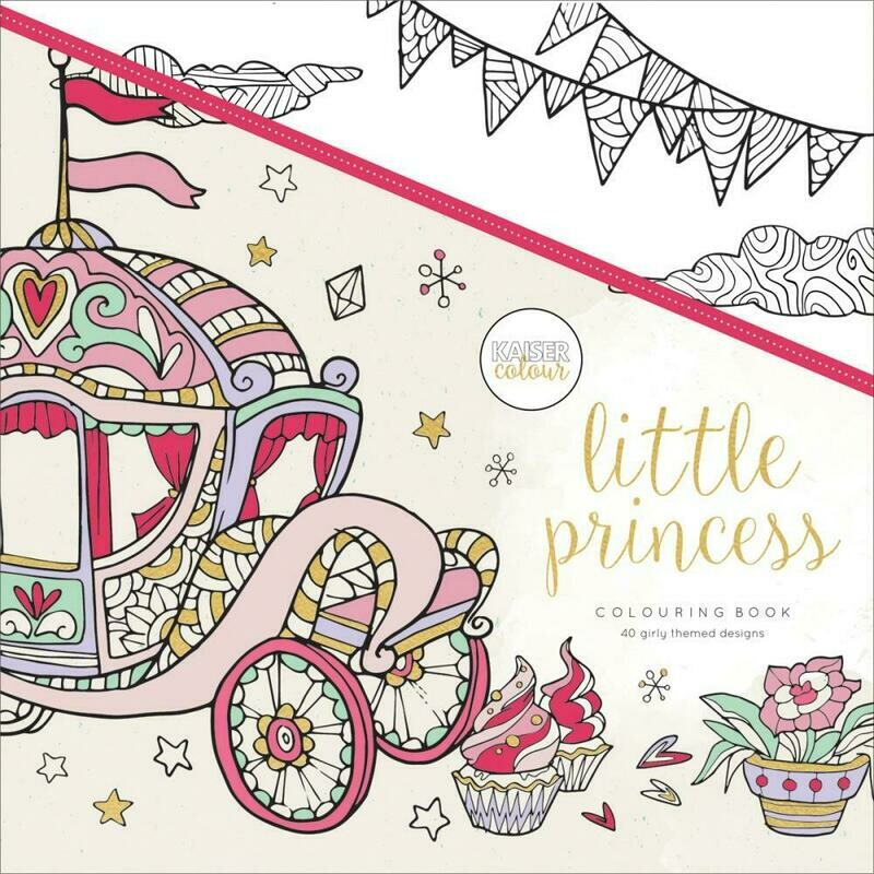 Little Princess Color Book