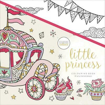 Little Princess Color Book