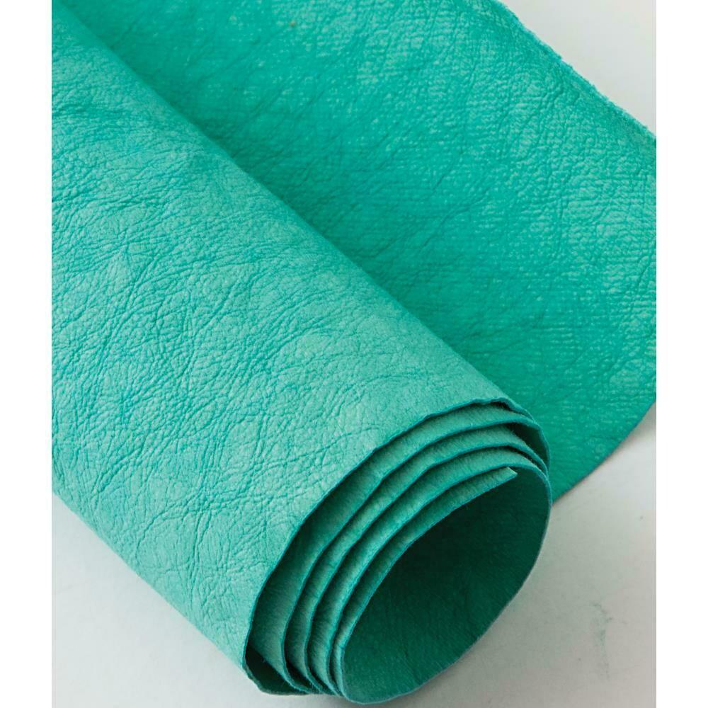 Kraft-tex Kraft Paper Fabric Roll- Blue Turquoise 18.5