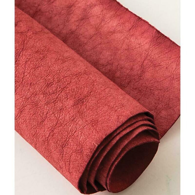 Kraft-tex Kraft Paper Fabric Roll-Red 18.5