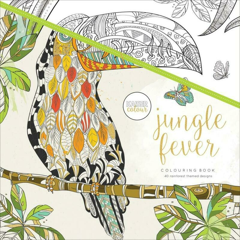 Jungle Fever Color Book