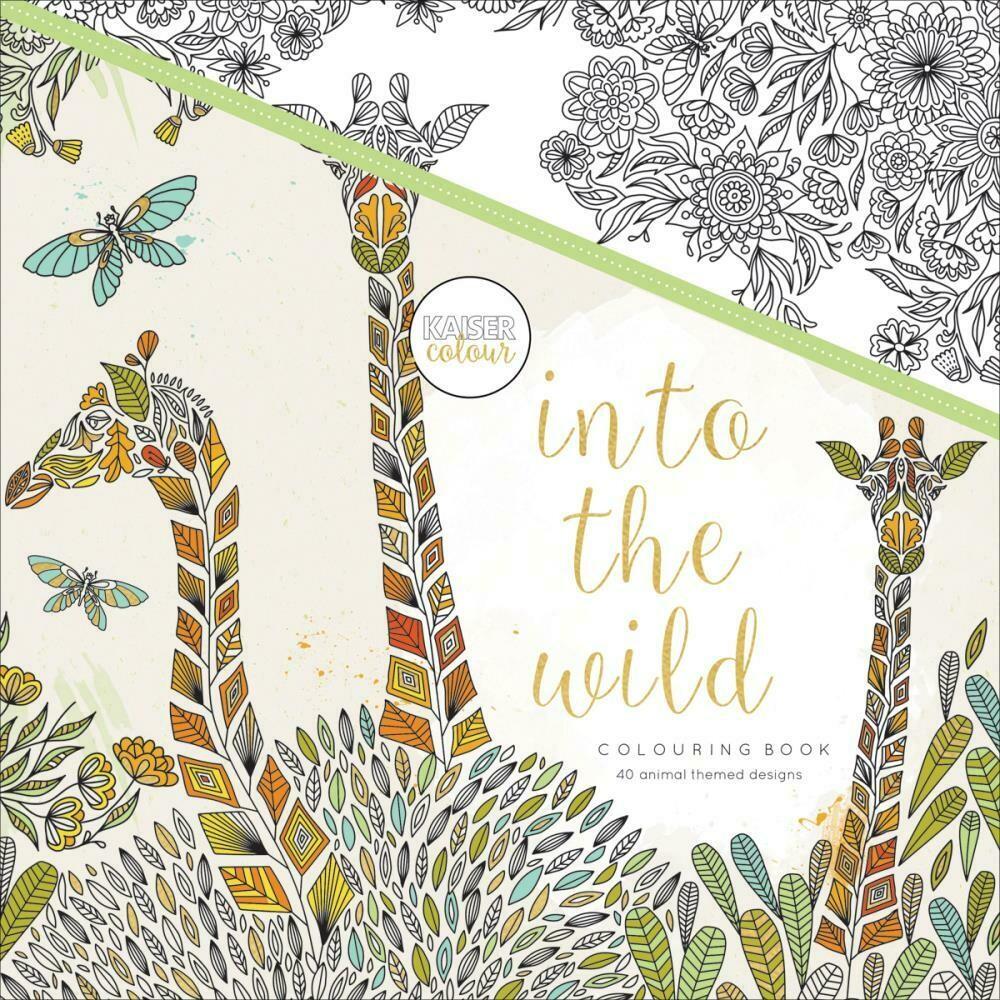 Into The Wild Color Book