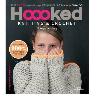Hoooked Knitting & Crochet Pattern Book