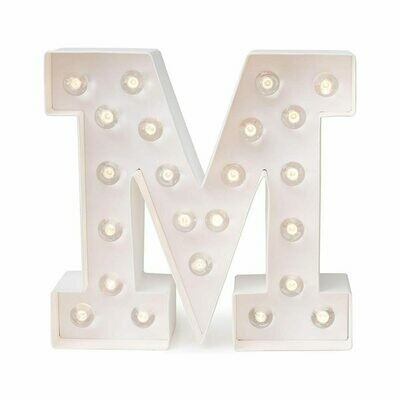 Heidi Swapp™ DIY Marquee Letter Kit - M - White - 8 inches