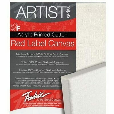 Fredrix Red Label Duck Canvas - 3/4