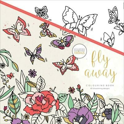Fly Away Color Book