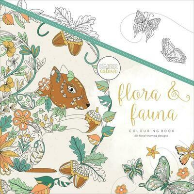 Flora & Fauna Color Book
