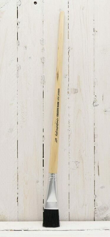 First Impressions Black Bristle Brush Long Handle 3/4