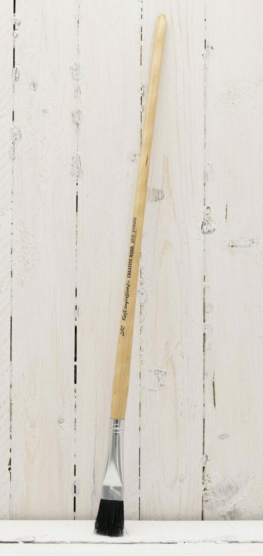 First Impressions Black Bristle Brush Long Handle 1/2
