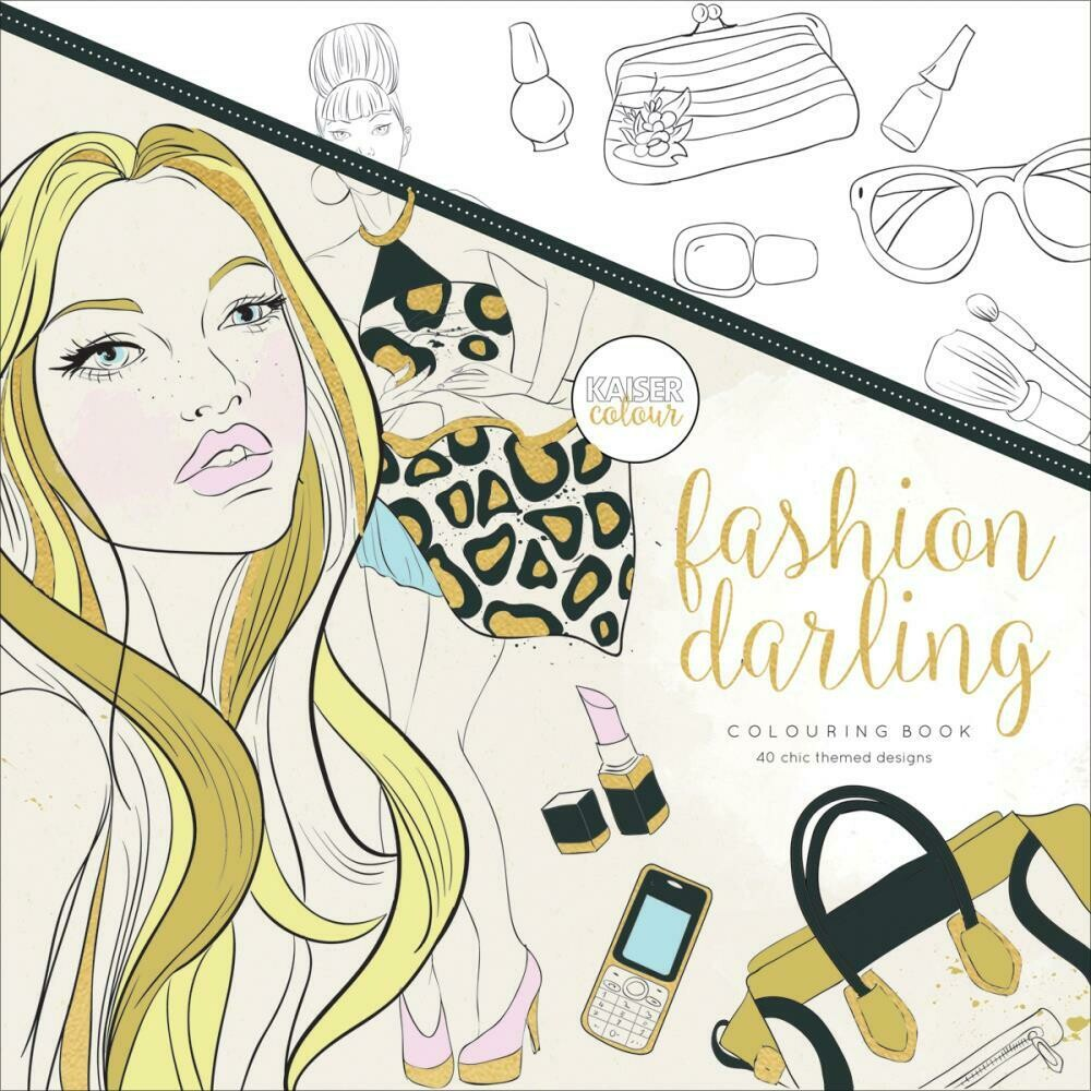 Fashion Darling Color Book