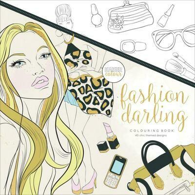 Fashion Darling Color Book