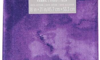 Fabric Fat Quarter - Purple Textured 18