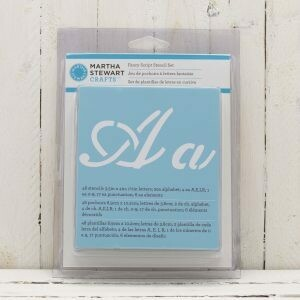 Fancy Alpha Stencil 48 pc Martha Stewart