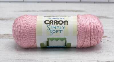 Caron Yarn Simply Soft- Soft Pink