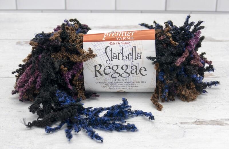 Starbella Reggae Yarn 13 Yards Moonwalk