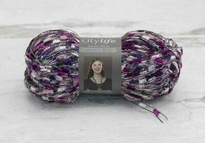 City Life Yarn 140 Yards- Orchid Mystery