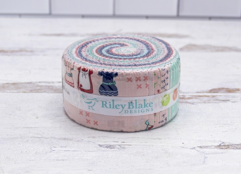 Sweetness Rolie Polie Fabric Pieces- 40 pieces per roll