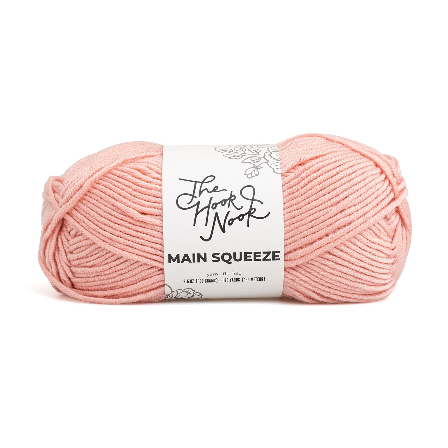 The Hook Nook Main Squeeze Yarn-176 yards-Worsted
