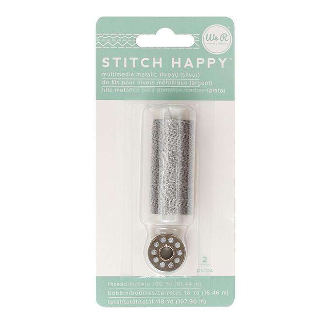 Stitch Happy Thread 2 pc 118 yards total Metallic