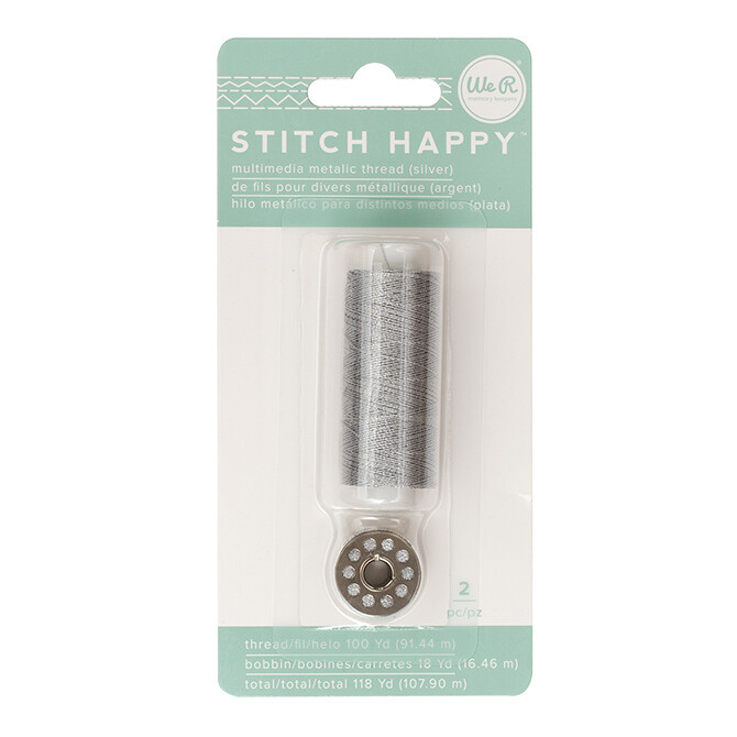 Stitch Happy Thread 2 pc 118 yards total Metallic