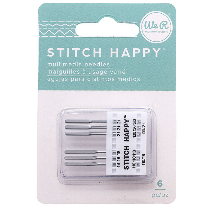 Happy Stitch Multimedia Needles 6 pack